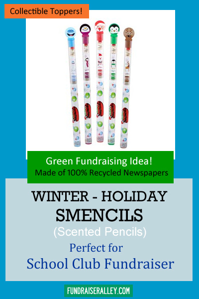 Winter Holiday Smencils for Fundraising