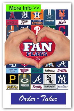 Fan Flags Order-Taker Fundraiser