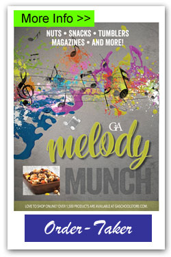 Melody Munch Order-Taker Brochures