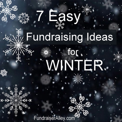 7 Easy Fundraising Ideas for Winter
