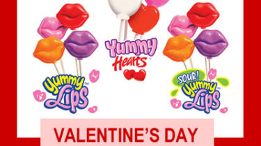 Valentine's Day Lollipops for Fundraising