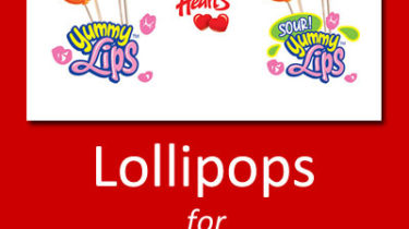 Lollipops for Valentine's Day Fundraising