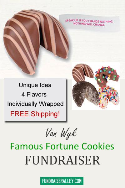 Van Wyk Famous Fortune Cookies Fundraiser