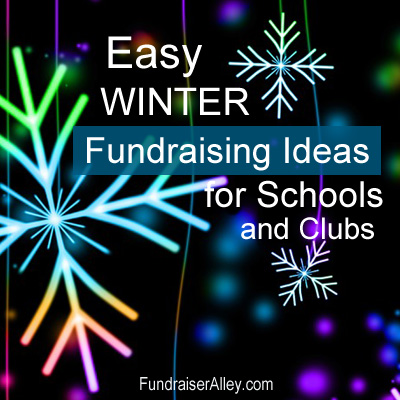 Easy Winter Fundraising Ideas for Your School or Club