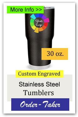 30oz Custom Tumbler Order-Taker Fundraiser