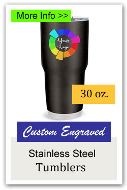 30oz Custom Stainless Steel Tumblers for Fundraising