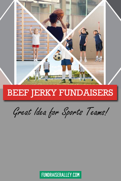 Beef Jerky Fundraisers - Great Idea for Sports Teams!