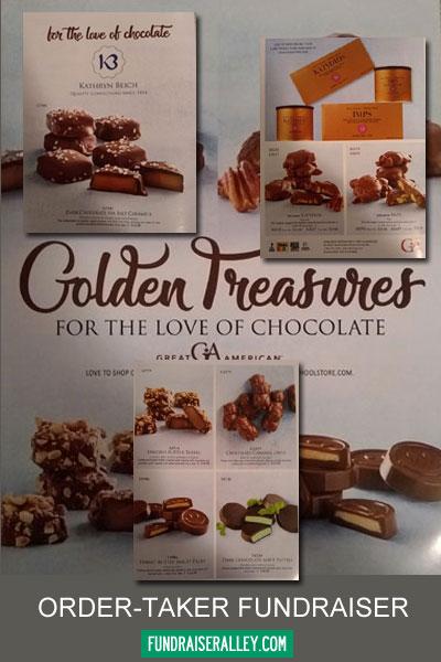 Look Inside the Golden Treasurers Fundraising Brochure