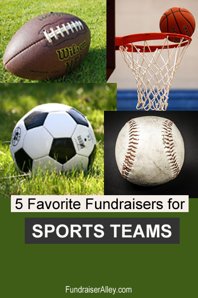 5 Favorite Fundraising Ideas for Sports Teams
