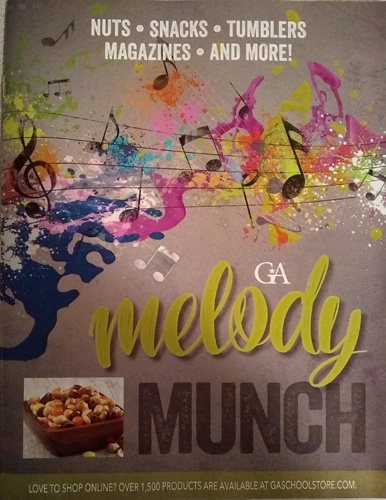 Melody Munch Brochure - Cover, Pg 1