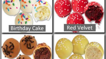 Cake Balls Custom Brochures for Fundraising