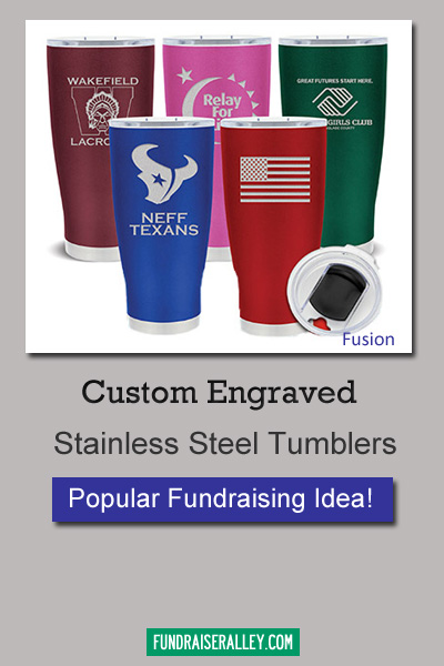 Custom Engraved Tumblers for Fundraising
