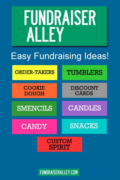 Fundraiser Alley - Easy Fundraising Ideas