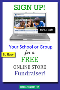Sign Up for Your FREE Online Fundraising Store