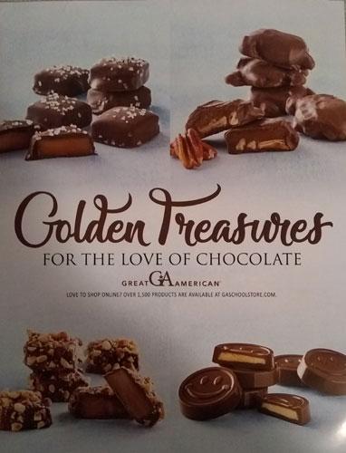 Cover/Page 1 Golden Treasures Brochure