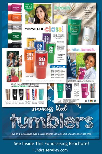 Stainless Steel Tumblers Fundraising Brochure