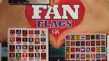 Fan Flags Fundraiser Brochure - What's Inside