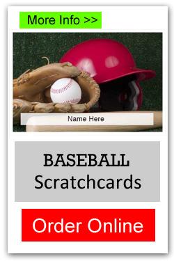 Baseball Scratchcards - Order Online