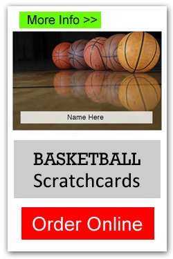 Basketball Scratchcards - Order Online
