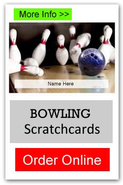Bowling Scratchcards - Order Online