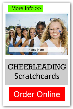 Cheerleading Scratchcards - Order Online