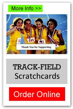 Track/Field Scratchcards - Order Online