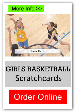 Girls Basketball Scratchcards - Order Online