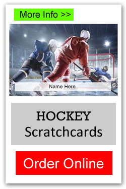 Hockey Scratchcards - Order Online