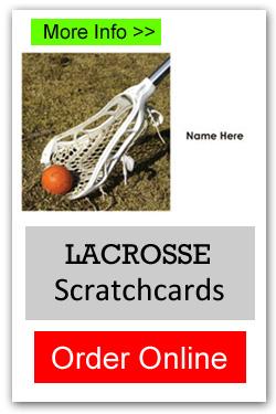 Lacrosse Scratchcards - Order Online