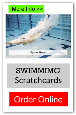 Swimming Scratchcards - Order Online
