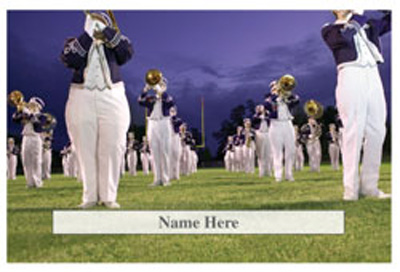 Marching Band Theme Scratchcard