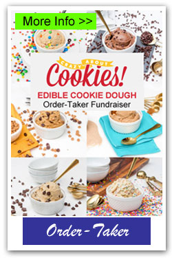 Crazy About Cookies Edible Dough Order-Taker Fundraiser