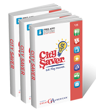 City Saver Coupon Book with Free App Fundraiser - Earn 50% Profit