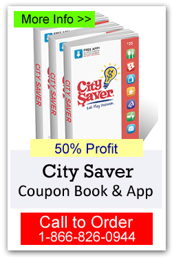 City Saver Coupon Book