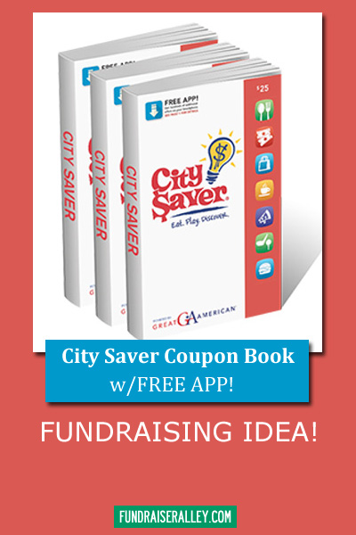 City Saver Coupon Book with Free App Fundraiser