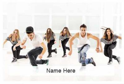 Dance Theme Scratchcard