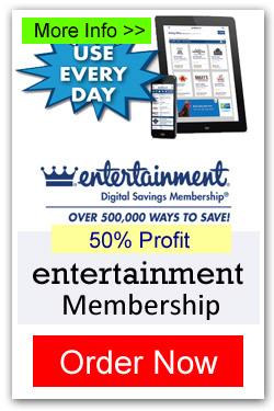 Entertainment Discount Membership