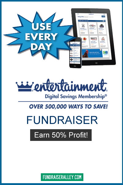 Entertainment Digital Savings Membership Fundraiser