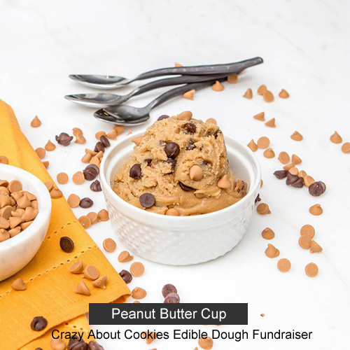 Crazy About Cookies Edible Dough Fundraiser - Peanut Butter Cup