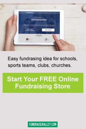 Sign Up for a FREE Online Fundraising Store