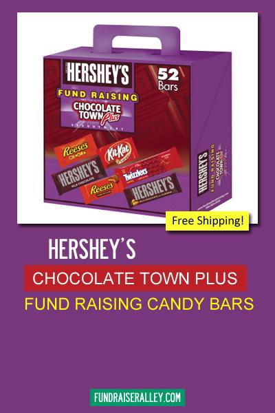 Hershey's Chocolate Town Candy Bar Fund Raising Kit