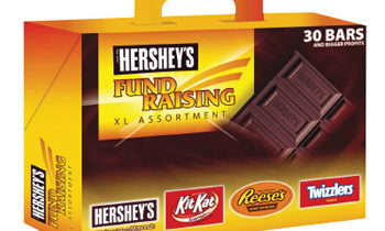 Hershey's XL Assortment Candy Bar Fund Raising Kit