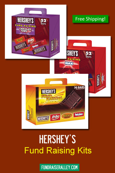 Hershey's Candy Bar Kits for Fund Raising