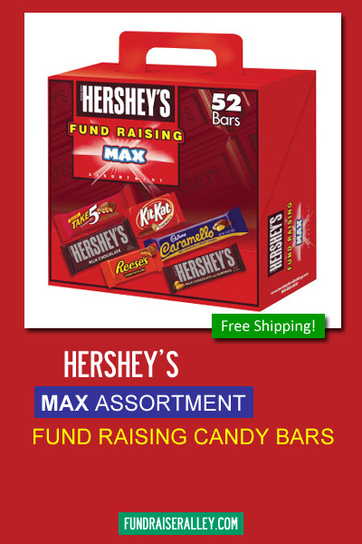 Hershey's Candy Shop Max Fundraising Candy Bars