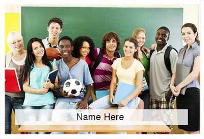 Scratchcard Theme - High School