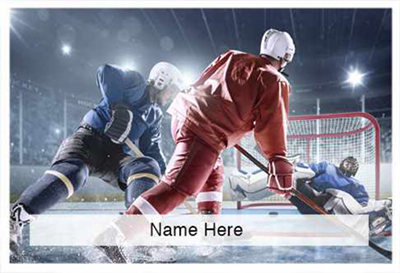 Scratchcard Theme - Hockey