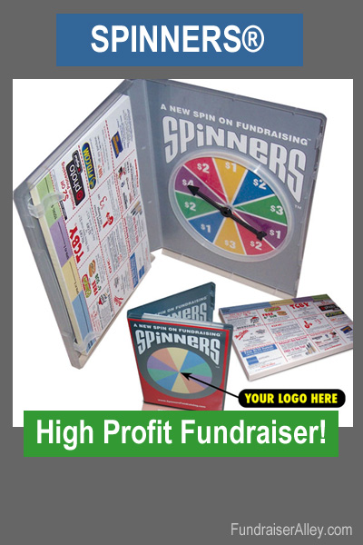 Spinners - High Profit Fundraiser