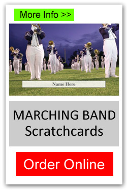School Marching Band Scratchcard - Order Online