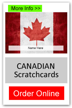 Canadian Theme Scratchcard Fundraiser - Order Online
