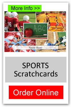 Sports Theme Scratchcard Fundraiser - Order Online